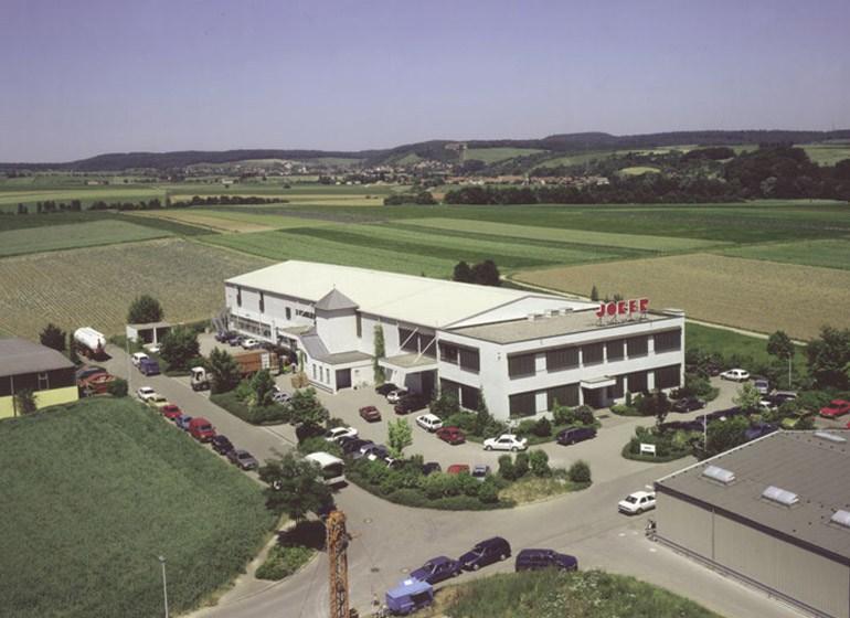 Neubau der JOKER Färberei und Wäschrei in Ilsfeld