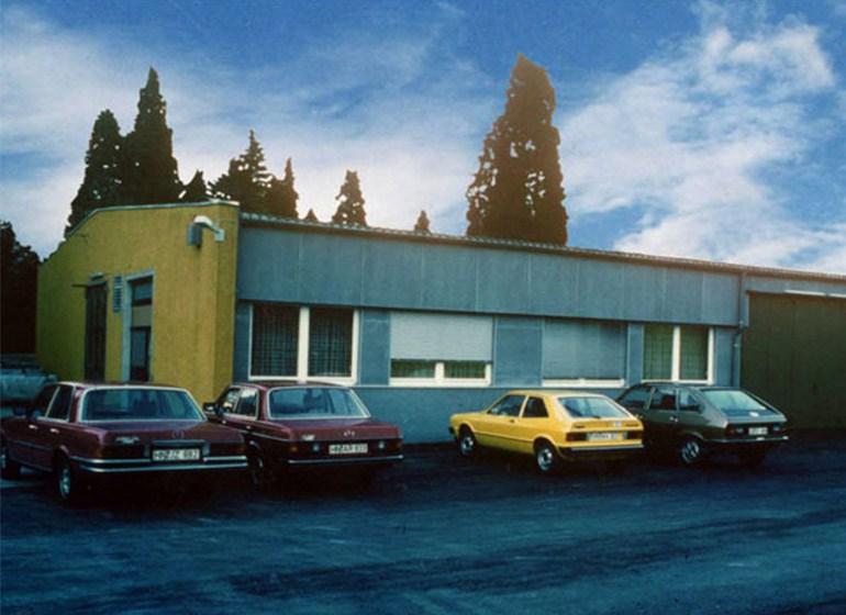 Die erste JOKER Produktionsstätte in Wüstenrot